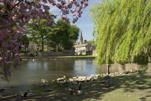 Bakewell, famous market town with a special pudding