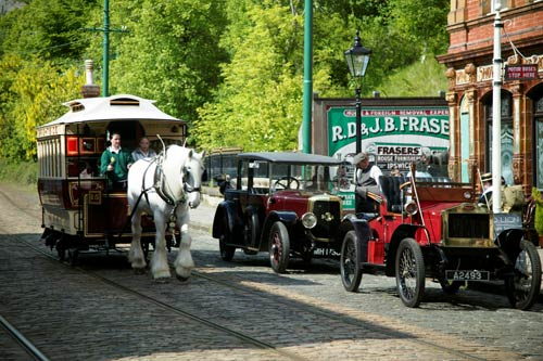 Plenty of things to do at near by Crich Tramway Museum a great day out for all the family