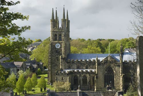 Visit the Cathedral of the Peak in beautiful Tideswell village